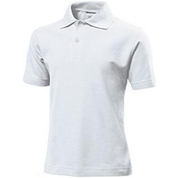 Kleidung Kinder T-Shirts & Poloshirts Stedman  Weiß