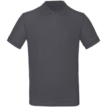 Kleidung Herren Polohemden B And C PM430 Dunkelgrau