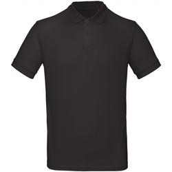 Kleidung Herren Polohemden B And C PM430 Schwarz