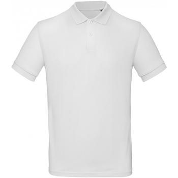 Kleidung Herren Polohemden B And C PM430 Schnee
