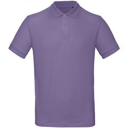 Kleidung Herren Polohemden B And C PM430 Violett
