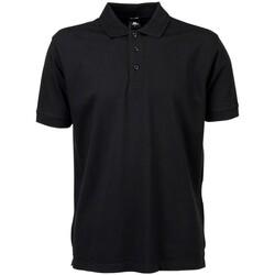 Kleidung Herren Polohemden Tee Jays TJ7200 Schwarz