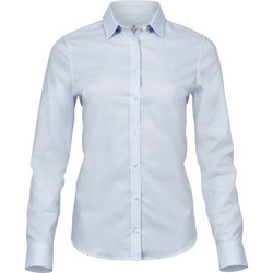 Kleidung Damen Hemden Tee Jays TJ4025 Hellblau