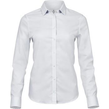 Kleidung Damen Hemden Tee Jays TJ4025 Weiß