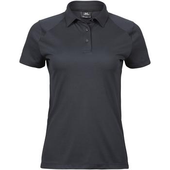 Kleidung Damen Polohemden Tee Jays TJ7201 Dunkelgrau
