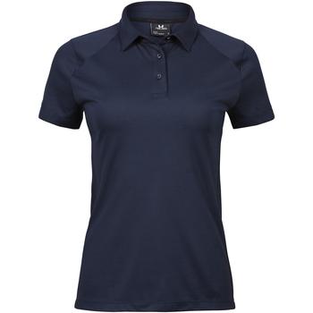 Kleidung Damen Polohemden Tee Jays TJ7201 Blau
