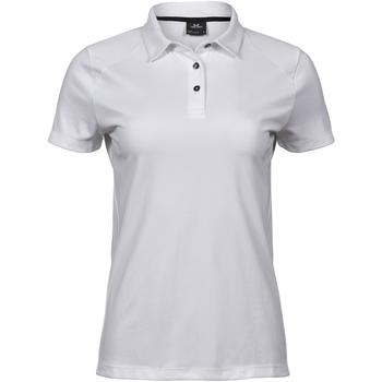 Kleidung Damen Polohemden Tee Jays TJ7201 Weiß