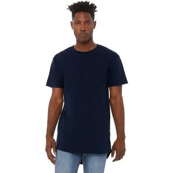 Kleidung Herren T-Shirts Bella + Canvas CA3006 Marineblau