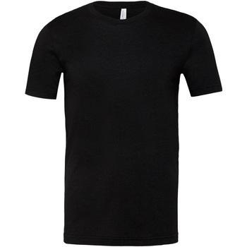 Kleidung T-Shirts & Poloshirts Bella + Canvas CA3001CVC Schwarz meliert