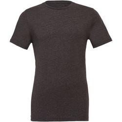 Kleidung T-Shirts & Poloshirts Bella + Canvas CA3001CVC Dunkelgrau meliert