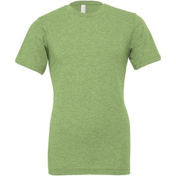 Kleidung T-Shirts & Poloshirts Bella + Canvas CA3001CVC Grün meliert