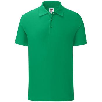 Kleidung Herren Polohemden Fruit Of The Loom 63044 Grün