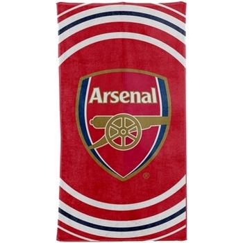 Home Handtuch und Waschlappen Arsenal Fc Taille unique Rot/Weiß/Blau