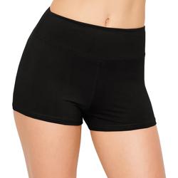 Kleidung Damen Shorts / Bermudas Silky  Schwarz