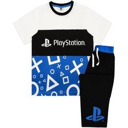 Kleidung Jungen Pyjamas/ Nachthemden Playstation  Schwarz