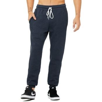 Kleidung Jogginghosen Canvas CV3727 Marineblau meliert