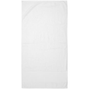 Home Handtuch und Waschlappen Towel City Taille unique Weiß