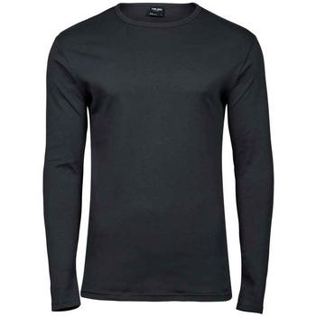 Kleidung Herren Langarmshirts Tee Jays T530 Dunkelgrau