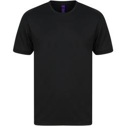 Kleidung Herren T-Shirts Henbury H024 Schwarz