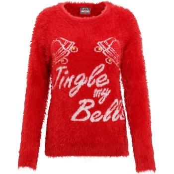 Kleidung Damen Sweatshirts Christmas Shop CS023 Rot