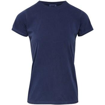 Kleidung Damen T-Shirts Comfort Colors CO010 Jeansblau