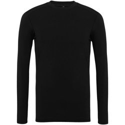 Kleidung Herren Langarmshirts Tridri TR016 Schwarz