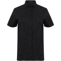 Kleidung Damen Hemden Henbury HB538 Schwarz