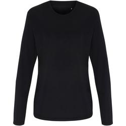 Kleidung Damen Langarmshirts Tridri TR060 Schwarz