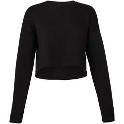 Kleidung Damen Sweatshirts Bella + Canvas BE7503 Schwarz