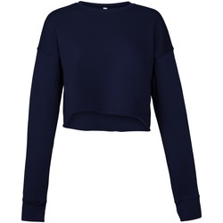 Kleidung Damen Sweatshirts Bella + Canvas BE7503 Marineblau