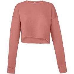 Kleidung Damen Sweatshirts Bella + Canvas BE7503 Violett