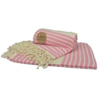 Home Strandtuch A&r Towels Taille unique Pink/Creme
