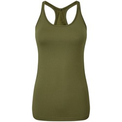 Kleidung Damen Tops Tridri TR217 Olive