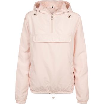 Kleidung Damen Windjacken Build Your Brand BY095 Helles Pink