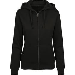 Kleidung Damen Sweatshirts Build Your Brand BY088 Schwarz