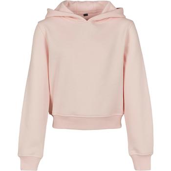 Kleidung Mädchen Sweatshirts Build Your Brand BY113 Pink