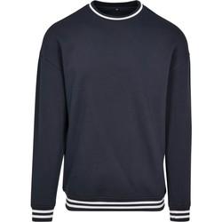 Kleidung Herren Sweatshirts Build Your Brand BY104 Marineblau/Weiß