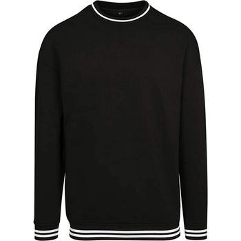 Kleidung Herren Sweatshirts Build Your Brand BY104 Schwarz/Weiß