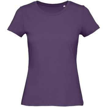 Kleidung Damen T-Shirts B&c B118F Fuchsie