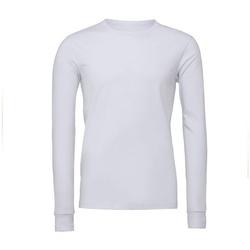Kleidung Langarmshirts Bella + Canvas BE044 Weiß