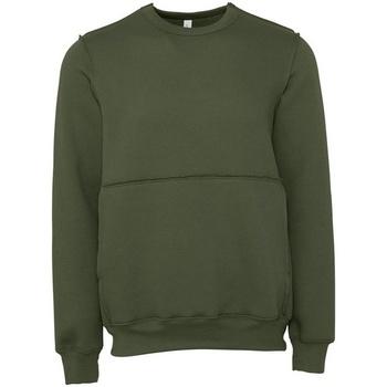 Kleidung Sweatshirts Bella + Canvas BE133 Grün