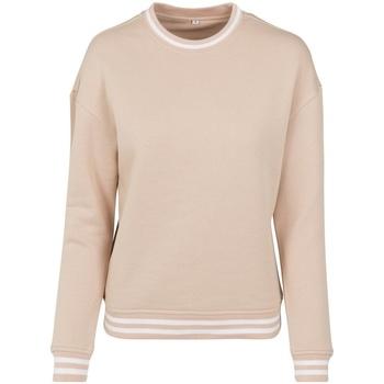 Kleidung Damen Sweatshirts Build Your Brand BY105 Rot