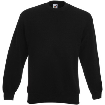 Kleidung Herren Sweatshirts Fruit Of The Loom  Schwarz