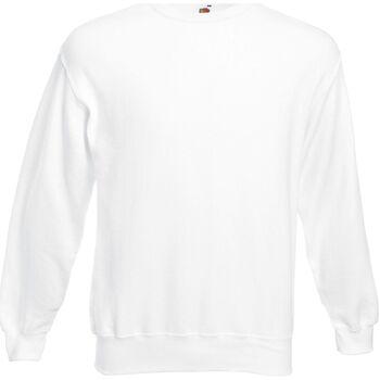 Kleidung Herren Sweatshirts Fruit Of The Loom  Weiß