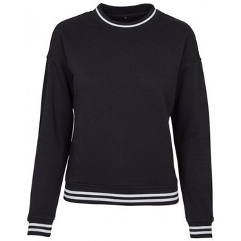 Kleidung Damen Sweatshirts Build Your Brand BY105 Schwarz/Weiß