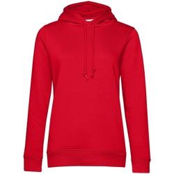 Kleidung Damen Sweatshirts B&c  Rot