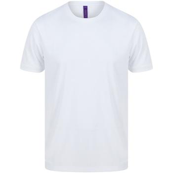 Kleidung Herren T-Shirts Henbury HB024 Weiß