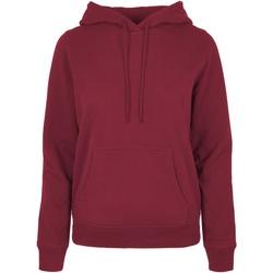 Kleidung Damen Sweatshirts Build Your Brand BB007 Burgunder