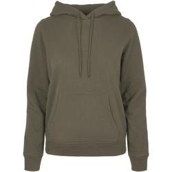 Kleidung Damen Sweatshirts Build Your Brand BB007 Olive