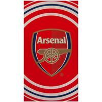 Home Handtuch und Waschlappen Arsenal Fc Taille unique Rot